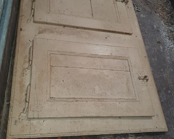 placard 2 portes louis XIV en sapin
