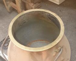 Pot à lait en cuivre 19ème