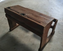 late 19th century school table