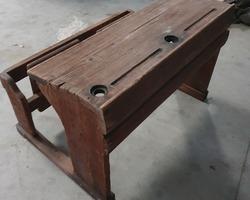 late 19th century school table