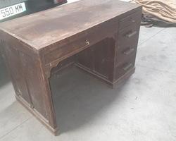 1950s desk in beech