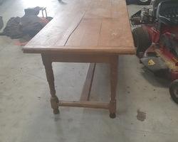 Lorraine Italian oak table