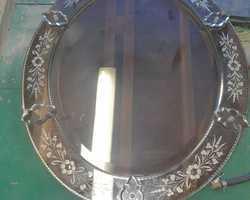 Miroir de Venise rond