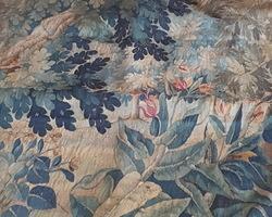 Tapisserie 19ème décors floraux