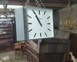 Rare factory triptych clock from the BODET brand