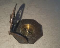 Cadran solaire boussolle 19ème