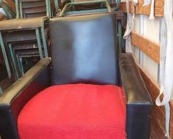 Paire de fauteuil vintage