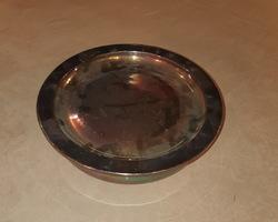 chauffe plat métal argenté début 20ème