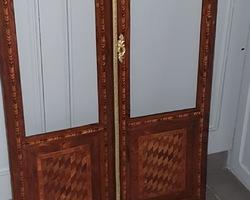 two door Louis XVI window richly marked