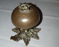 sonnette de table en bronze