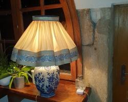 Important Table Lamp in DELF circa 1930/1950