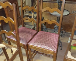 6 Latologist Provençal chairs