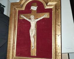 Christ en ivoire 18ème