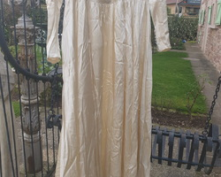 Wedding dress from the 50s