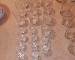 20 verres en Baccarat