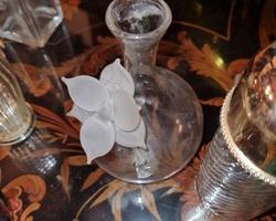 1920s key-shaped glass perfume bottle