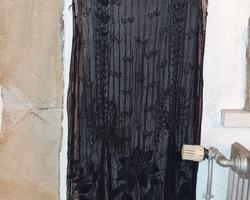 Art-deco 1925 charleston period ball gown