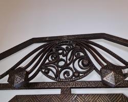 Porte manteau en fer forgé Art Deco