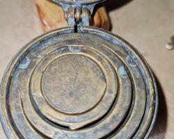 Sceau a mesures en bronze fin 19ème