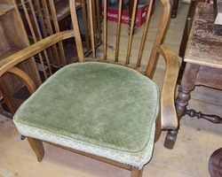 Pair of armchairs 1930/1950 in beech