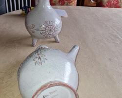 3 pieces de céramique GIL PRAS