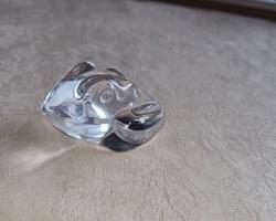 Grenouille en cristal signé DAUM