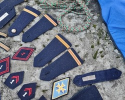 Lot of military badges