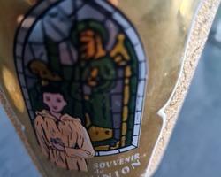 Verre de communion émaillé