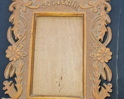 3 souvenir frames of captivity carved from the first war