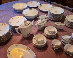 Limoges porcelain service from the 50s