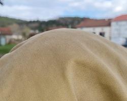 Beret militaire Francais de couleur beige