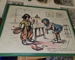 2 dessins de germaine BOURET
