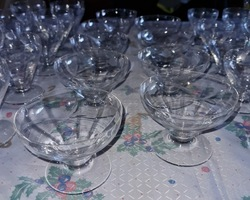Glass service in PORTIEUX of the 50s