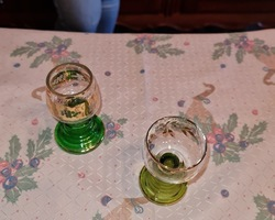 Small glasses of Alsace 50s/70s  in perfect condition