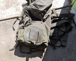 Military backpack of the French army of the 60s/70s
