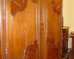 Armoire lorraine en chêne a  tiroirs