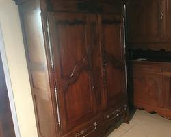 armoire lorraine en chêne 19ème