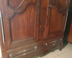 Lorraine oak cabinet 19th
