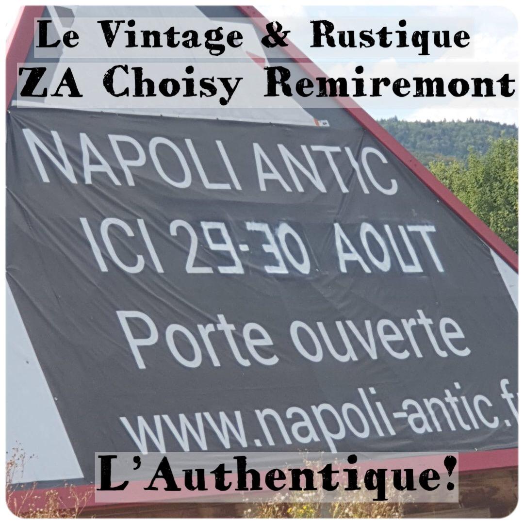 Napoli Antic ouvre ses stocks! Une large sélection d'antiquités! Profitez de Votre Week-End avec Napoli Antic  Samedi 29 août - Dimanche 30 août